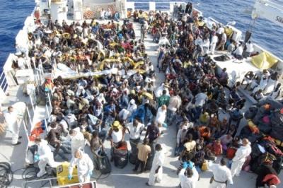 In arrivo a Vibo Marina una nave con 200 migranti a bordo