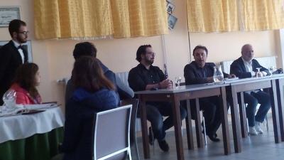 Serra, gli studenti dell'Alberghiero incontrano lo chef internazionale Simone Cantafio