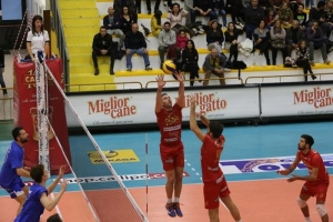 Volley, serie A2: la Tonno Callipo fa poker. Brescia ko in quattro set