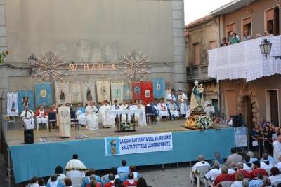 Festa della Madonna del Rosario, a San Nicola il IV raduno delle confraternite
