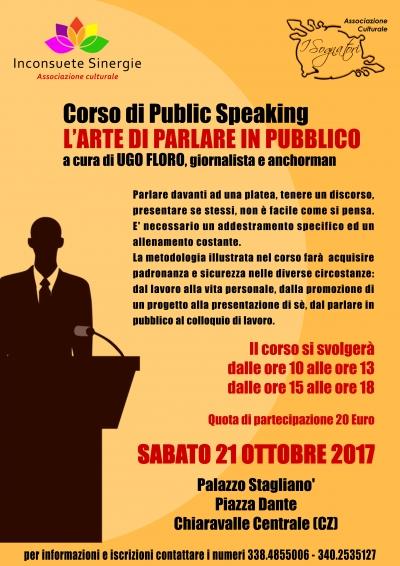 Public speaking, a Chiaravalle un corso sull'arte di parlare in pubblico