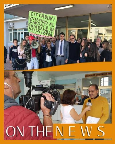 Rs98, a On the news la protesta per l'ex ospedale di Chiaravalle
