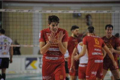 Volley, la Tonno Callipo cede alla Globo Sora: giallorossi ko 3-2