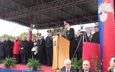 A Vibo l'istituzione del 14° Battaglione Calabria dell'Arma dei carabinieri