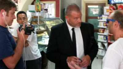 Le Iene a Serra per il 'caso Alaco'