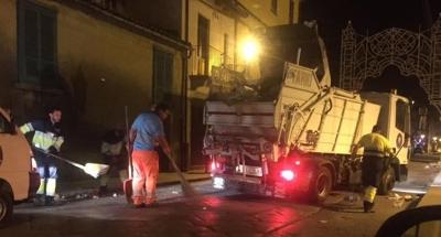 Serra, una notte 'salata': la raccolta dei rifiuti della fiera di Ferragosto è costata al Comune 2750 euro