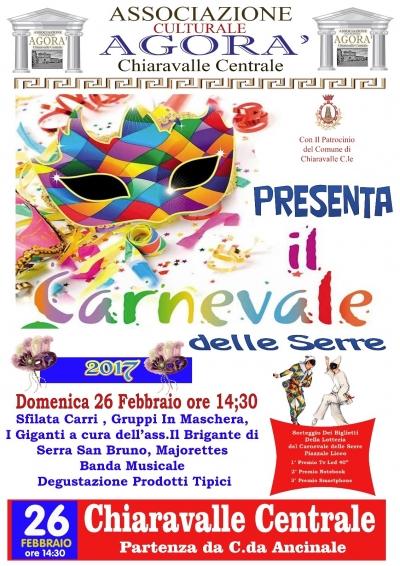 Chiaravalle, festeggiamenti di carnevale rinviati a domenica prossima a causa delle condizioni meteo incerte