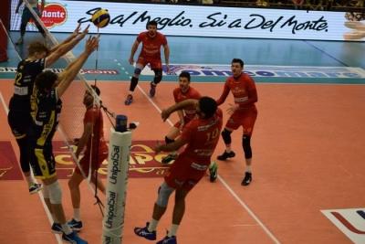 Volley   SuperLega, la Tonno Callipo si inchina ai campioni d'Italia