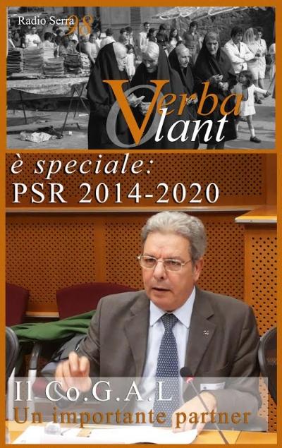 PSR 2014-2020, ospite di 'Verba Volant' il presidente del Cogal Monte Poro-Serre Vibonesi