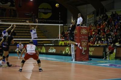 Volley, netta affermazione della Tonno Callipo