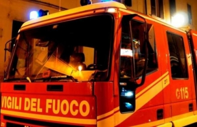 In fiamme due ruderi disabitati a Gerocarne